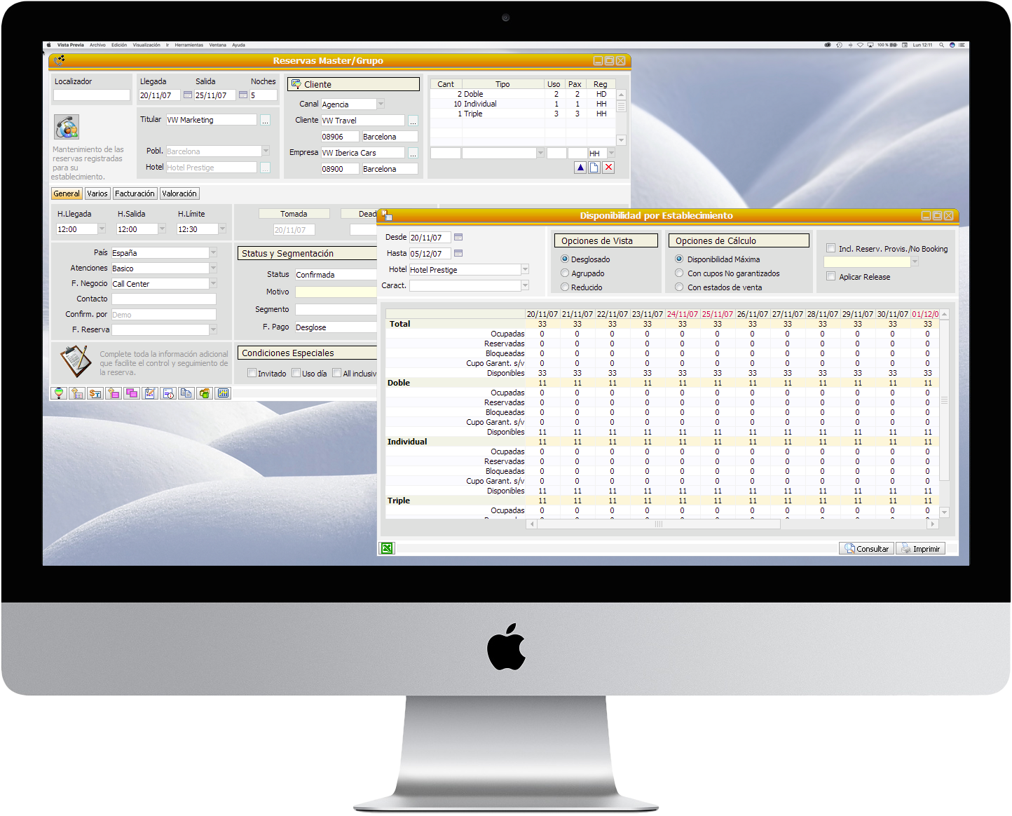 Prestige Software Central De Gesti U00f3n